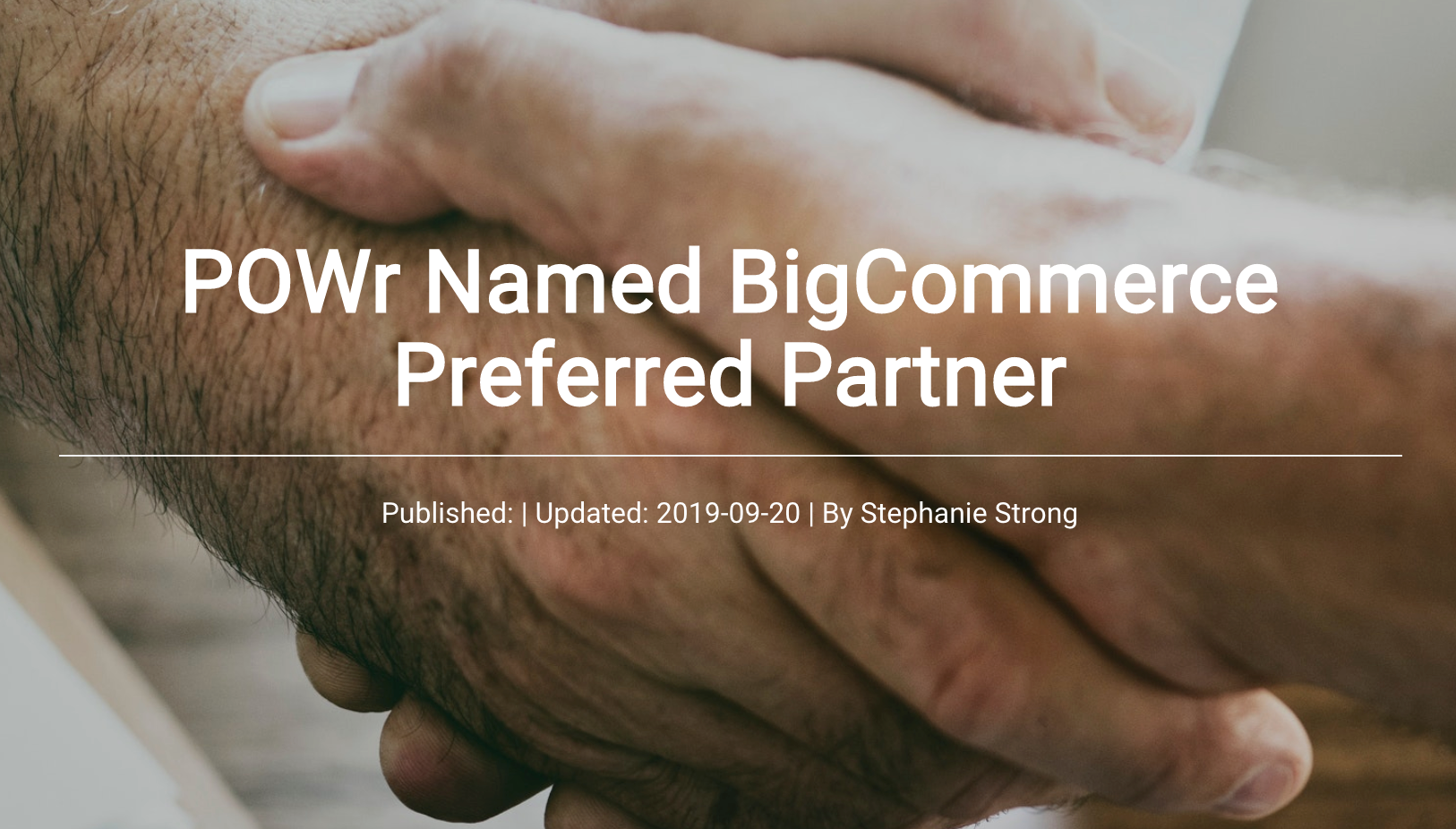 Powr+bigcommerce+partner+blog